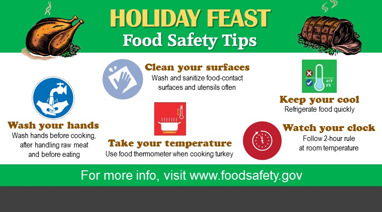 Happy and Safe Holiday Feasts